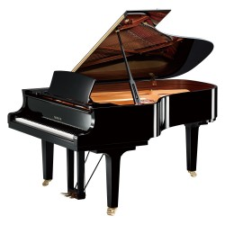 PIANO A QUEUE YAMAHA C6X 2m12 Noir Brillant