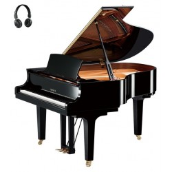 PIANO A QUEUE YAMAHA C2X S SILENT 173cm Noir Brillant