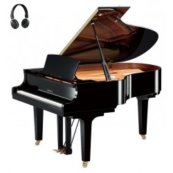 PIANO A QUEUE YAMAHA C3X S SILENT 186cm Noir Brillant