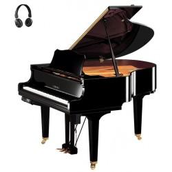 PIANO A QUEUE YAMAHA DISKLAVIER/SILENT DGC1E3 161cm Noir Poli