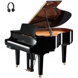 PIANO A QUEUE YAMAHA DISKLAVIER/SILENT DC2XE3 173cm Noir Poli