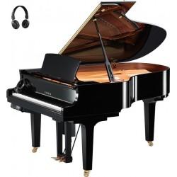 PIANO A QUEUE YAMAHA DISKLAVIER/SILENT DC3XE3 PRO 186cm Noir Poli