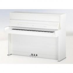 PIANO DROIT C.BECHSTEIN Millenium 116 K Blanc Poli