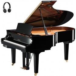 PIANO A QUEUE YAMAHA DISKLAVIER/SILENT DC5XE3 PRO 200cm Noir Poli