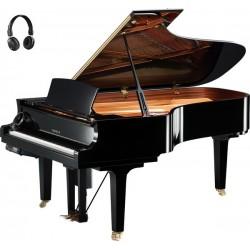 PIANO A QUEUE YAMAHA DISKLAVIER/SILENT DC7XE3 PRO 2m27 Noir Poli