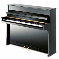 PIANO DROIT Grotrian-Steinweg Cristal 112 cm Noir Brillant