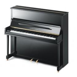 PIANO DROIT Grotrian-Steinweg Classic 124 cm Noir Brillant