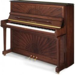 PIANO DROIT Schulze & Pollmann 126 P6 Noyer Soleil Brillant