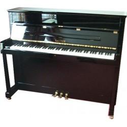 PIANO DROIT SAUTER Cosmo 116 Noir poli