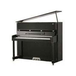 PIANO DROIT MENDELSSOHN 125 Diamant noir et chrome / Prix Modèle EXPO