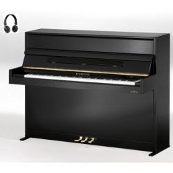 PIANO DROIT BECHSTEIN ACADEMY A.112 VARIO HDS Noir Poli