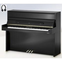 PIANO DROIT C.BECHSTEIN Millenium 116 VARIO HDS Noir Poli