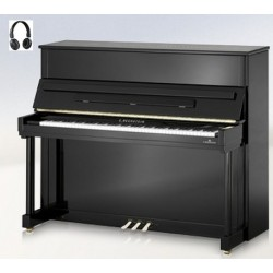 PIANO DROIT C.BECHSTEIN Classic 124 VARIO HDS Noir Poli