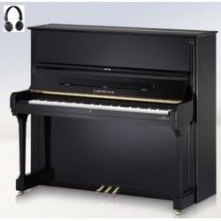 PIANO DROIT C.BECHSTEIN Concert 8 VARIO HDS Noir Poli