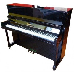 Piano Droit W.HOFFMANN H 116 P Noir Poli Made in Langlaü