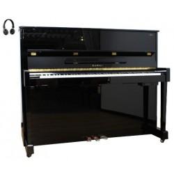 Piano Droit KAWAI HAT-20 AnyTime 122cm Noir brillant