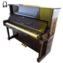 Piano Droit YAMAHA U1 SILENT KORG 121cm Noir poli