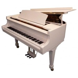 PIANO A QUEUE WILH.STEINBERG P 165 Blanc Brillant