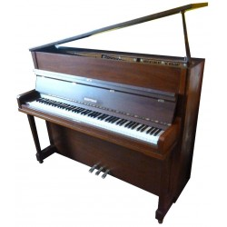 Piano Droit W.HOFFMANN H 114 Noyer satiné Made in Langlaü