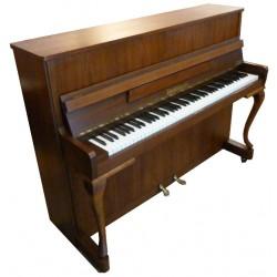 Piano Droit ZIMMERMANN 111 V Chippendale Noyer satiné