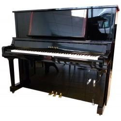 Piano Droit YAMAHA YU5 silent KORG 131cm Noir brillant
