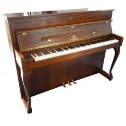 Piano Droit SCHIMMEL 110 Chippendale bois satiné