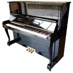 Piano Droit KAWAI DS-60 125cm Noir brillant