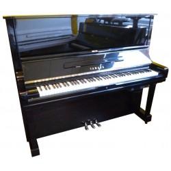 Piano Droit YAMAHA U3 Silent GENIO Noir brillant 131cm