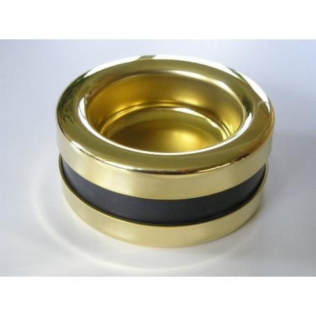 Coupelle PIATTINO Castor 67,5 mm, finition laiton