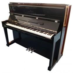 PIANO DROIT Hermann Jacobi 118 Hermann Noir brillant / chrome