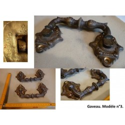 Paire de poignées en bronze. Gaveau, n°3