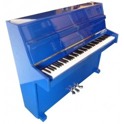 Piano Droit YOUNG-CHANG U-109 Bleu roi poli