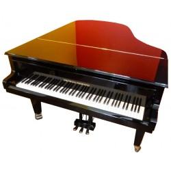 PIANO A QUEUE GROTRIAN-STEINWEG 192cm Cabinet Noir Brillant