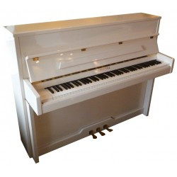 Piano Droit PLEYEL Esprit 115 Blanc brillant