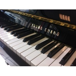 Piano Droit YOUNG CHANG U-109 Noir brillant