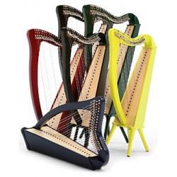 Harpe CAMAC, modèle BARDIC 27 cordes