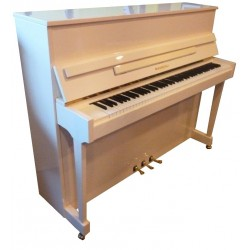 Piano Droit RAMEAU Lozère 116 Blanc poli méc. Renner