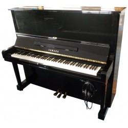Piano Droit YAMAHA U3 Silent Noir brillant 131cm