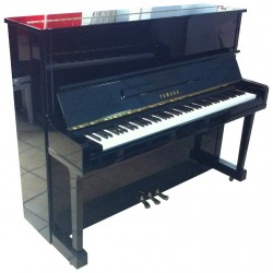 Piano Droit YAMAHA U10 121cm Noir brillant