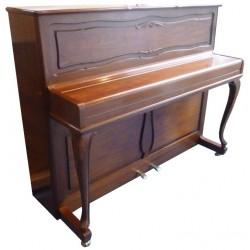 Piano Droit W.HOFFMANN H114 chippendale Noyer satiné