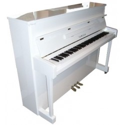 PIANO DROIT YAMAHA b2 113cm Blanc brillant PRIX NOUS CONSULTER