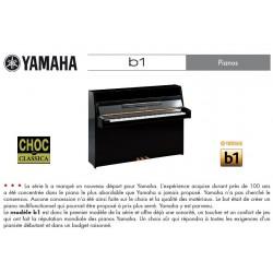 PIANO DROIT YAMAHA b1 109cm Cerisier naturel satiné