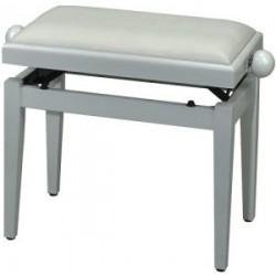 Banquette réglable, blanc brillant et assise blanche, mécanique double performance ***Nouvelle référence***