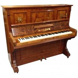 Piano Droit JULIUS PFAFFE bois marqueté 127cm