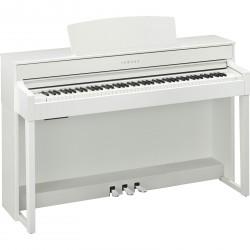 Piano numérique YAMAHA CLP-545 WH Blanc
