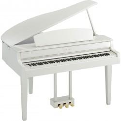 Piano numérique YAMAHA CLP-565GP WH Blanc