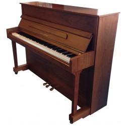 Piano Droit JULIUS DRAYER NU-12 Noyer satiné 112 cm