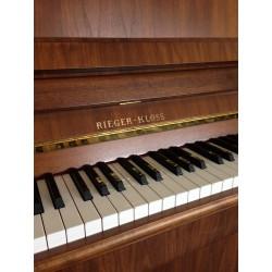 Piano Droit Rieger-kloss 121 Classic Noyer satiné