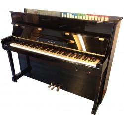 Piano Droit KAWAI AT-140 Silent Noir brillant