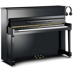 PIANO DROIT KEMBLE Classique T 116 SILENT SH Noir Brillant